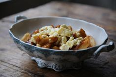 MsMarmiteLover: Poutine cheese curds, the search and the recipe for Canada's comfort food