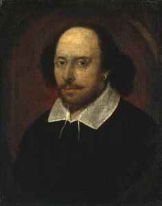 William Shakespeare, date de naisance inconnue, mort le 23 avril 1616
