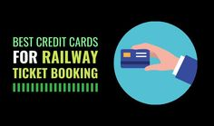 There are many people in India who travel a lot whether the reason is a corporate trip or a vacation. The means of transport that is usually chosen is rail transportation or sometimes flights. So, if you frequently prefer rail transportation then you must know the best credit card for railway ticket booking. These credit cards can help you to cut off your travel expenses because they might earn you discounts or reward points when you book railway tickets. Best Credit Cards, Ticket, Transportation, India, Vacation, Books, People, Movie Posters, Travel