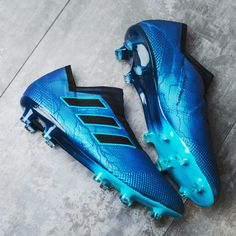 Adidas today released stunning limited edition paint jobs for the Adidas Ace, Nemeziz and X as part of the new Thunder Storm collection..