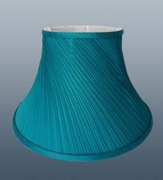 Blue Floral Screen Print Drum Lamp Shade | Bedroom Ideas ...