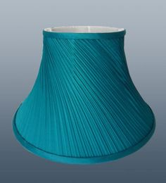 Lamp shade creamtrout stream medium threshold trout ombre details about pair of twisted pleat fabric table lampshade ceiling light lamp shade teal blue aloadofball Image collections