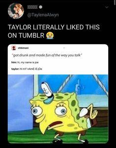 Taylor Swift Jokes, Taylor Swift Music, Long Live Taylor Swift, Taylor Alison Swift, Katy Perry, Joe Taylor, Funny Cute, My Idol, Funny Memes