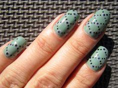 Concrete and Nail Polish: Zoya Dot Nail Art