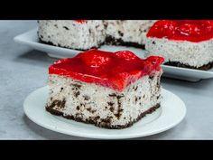Torta pripravená bez pečenia, ktorá zvíťazí! Prekvapivá chuť! - YouTube Oreo Biscuits, Melted Butter, No Bake Cake, Panna Cotta, Cake Recipes, Wedding Cakes, Cheesecake, Food And Drink, Sweets