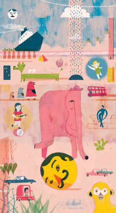 Jules & Sophie by Pedro Perles, via Behance