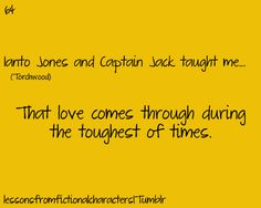 Captain Jack and Ianto are awesome. And this is Torchwood, but it's on the Doctor Who board. Torchwood, Eleventh Doctor, Doctor Who, Sadie Kane, Sarah Jane Smith, Captain Jack Harkness, John Barrowman, Rory Williams, Dr Who