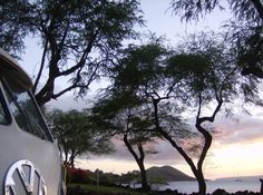 VW Sunset Maui, HW - Now that's a roadtrip ♠ pinned by  http://www.wfpblogs.com/author/thomas/
