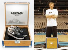 Super-nice kicks custom made for Dirk Nowitzki - couldn't happen to a nicer guy  :)