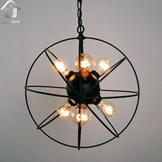 UNITARY BRAND Vintage Metal Shade Round Hanging Ceiling Chandelier Max. 360W With 6 Lights Painted Finish Unitary http://www.amazon.com/dp/B010B6MMJ4/ref=cm_sw_r_pi_dp_LueZvb0Q41QYY