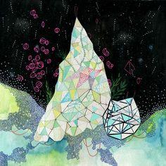 """Formation I"" by Aaron Piland, Ayumi Piland, Betsy Walton, Jill Bliss, Yellena James : Elemental : Store : Together Gallery"