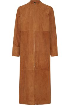 The Row  Luri paneled suede coat £1641.50