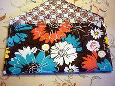 envelope clutch purse