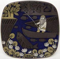 Arabia of Finland Kalevala Annual Plate 1985 | eBay