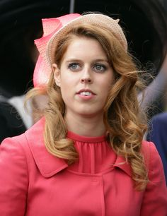 Princess Beatrice in ombré Philip Treacy for Royal Ascot in 2012.