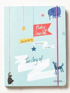 cute baby journal to keep track of all the firsts http://rstyle.me/n/vvtudr9te