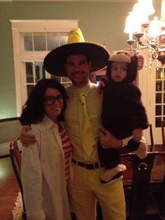 Man with the Yellow Hat (Curious George) costume diy | KOLLO | Pinterest | Curious george costume Curious george and Costumes  sc 1 st  Pinterest & Man with the Yellow Hat (Curious George) costume diy | KOLLO ...