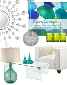 Clarity Contemporary: A Hot Decor Trend for Fall - Lighting & Interior Design Ideas Blog - Community - LampsPlus.com - Information Center