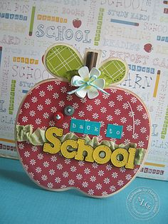 Back to school card, love this to give to a teacher
