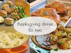Thanksgiving Dinner for Two