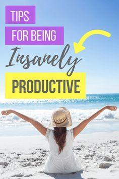 Productivity tips to help you get stuff done (these are actually awesome!)