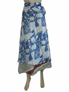 Silk Sari Long Skirt Blue Grey Beach Sarong Vintage Wrap Around Dress Skirts Mogul Interior,http://www.amazon.com/dp/B00EVL3QKU/ref=cm_sw_r_pi_dp_kzsisb0RFXAKF88K
