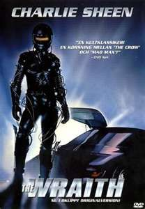 The Wraith...thought the car and the story of him coming back for the girl he loved was great! Course Charlie Sheen back in those days was pretty awesome too:)