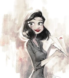 """Paperman"" by alicexz.deviantart.com on #deviantART"