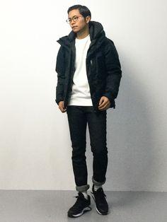 ZOZOTOWN | K-1RO(ケーイチロー)ダウンジャケット/コート「URBAN RESEARCH Sonny Label Sonny Label ナイロンダウン」Styling looks