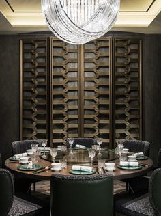 AFSO Andre Fu Interior Design Yu Yuan Restaurant private dining