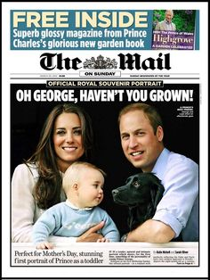 Prince George, Oh George, haven't you grown!