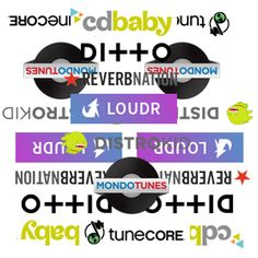 CD BABY, TUNECORE, DITTO, MONDOTUNES OR REVERBNATION :: A good, informative comparison of some of the basic digital distributors available to labels. There are many others, including some much more specialized to genre, but these listed all seem to have an 'open door' policy for all.