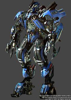 "Little known hero of ""Transformers: Revenge of the Fallen"", Jolt applied Jetfire's body as Jetwing armor for Optimus in Egypt."
