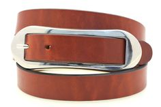 """Women's 1"""" Hip Or Waist Light Brown Show Harness Leather Belt Over-Sized Buckle #OrionLeather"""