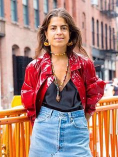 This Is Leandra Medine's Most Creative Outfit Combo Yet