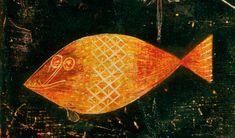 Paul Klee, Fish Magic, 1925. Oil and watercolor on...