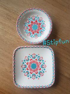 Dot Art Painting, Mandala Painting, Pottery Painting, Mandala Painted Rocks, Paint Your Own Pottery, Candle Box, Plate Design, Hand Painted Ceramics, Ceramic Plates