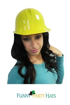 • Ultra-fun Hard Hat Featuring a Comfortable Lightweight Plastic • Perfect for any Builder or Construction Themed Kids Party • This Hat is Made From Thin Plastic and Should Not be Used as a Protective Helmet! • Great as Party Hats for a Construction Themed Event! Construction Hat, Party Favors For Adults, Kids Party Games, Party Hats, Party Supplies, Superhero, Party Costumes, Funny, Collection