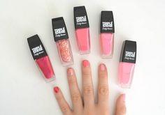 Just swatched: Sally Hansen Triple Shine nail polish
