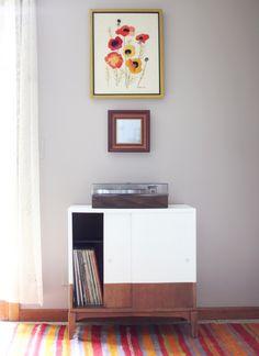 Retro record cabinet on Pinterest | Record Cabinet, Retro ...