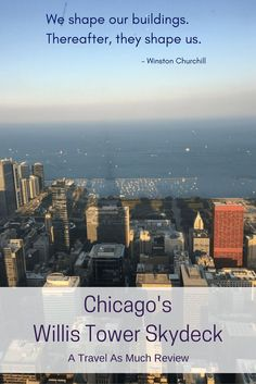 Sears Willis Tower Skydeck gives you a incredible views, from architectural marvels to the beauty of Lake Michigan, it's a Chicago must-do!