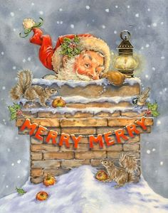Christmas Art by Donna Race