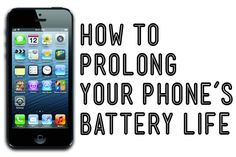 Simplification Sunday 2014 No.24 -- How To Prolong Your Phone's Battery Life! (6/15/2014)