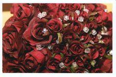 Bouquets photo by on Weddingbee. Wedding Flower Guide, Fall Wedding Bouquets, Bride Bouquets, Flower Bouquet Wedding, Bridesmaid Bouquet, Wedding Events, Real Weddings, Florists, Wedding Stuff