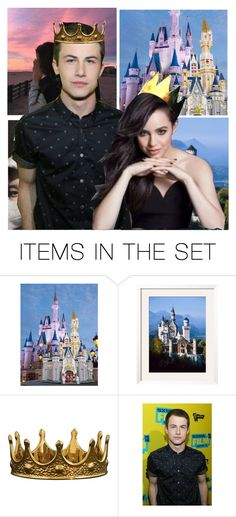 """You are my PRINCESS and I am your PRINCE."" by batgirl-at-the-disco3 ❤ liked on Polyvore featuring art"
