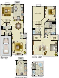 The Wellington II Townhome | Edgewood Properties