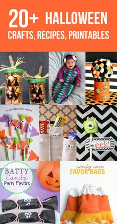 Over 20 Halloween Crafts, Recipes & Printables - www.seevanessacraft.com