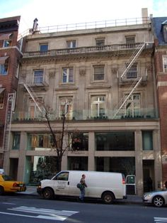Donna Karen's mansion/store on Madison Ave in NYC