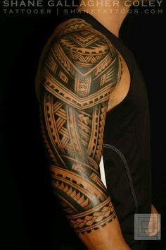 Samoan sleeve
