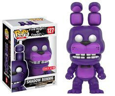 Five Nights at Freddy's: Shadow Bonnie Pop figure by Funko, Target exclusive